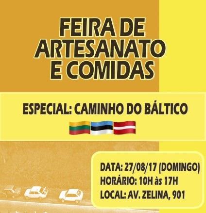FEIRA CAMINHO DO BALTICO